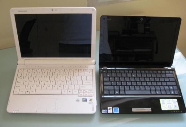 Eee PC 1101HA vs IdeaPad S12
