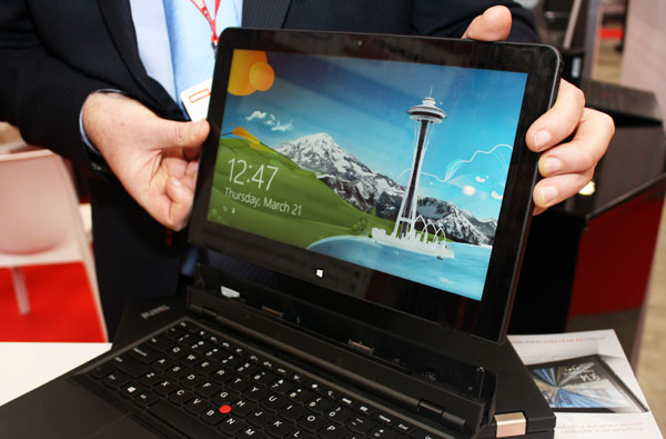 ThinkPad Helix tablet