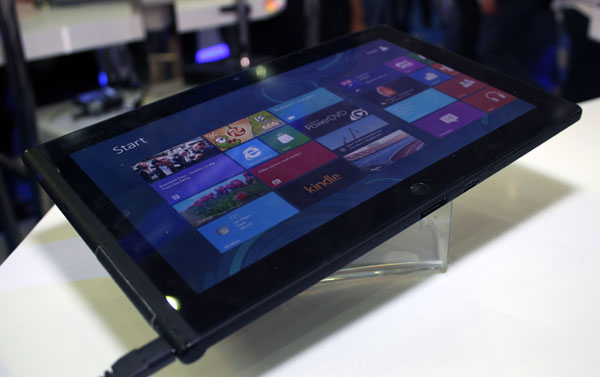 Lenovo ThinkPad tablet con Windows 8