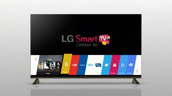LG, Smart TV con WebOS