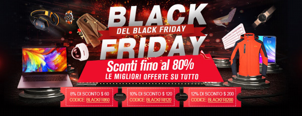 LightInTheBox festeggia il Black Friday