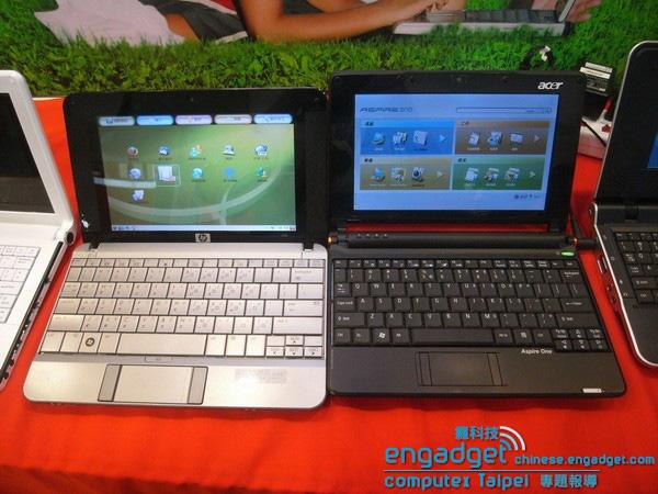 Acer Aspire One e HP Compaq 2133