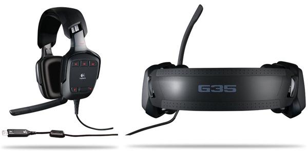 Logitech G35 cuffie