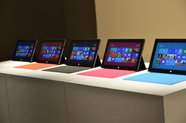 Microsoft Surface live