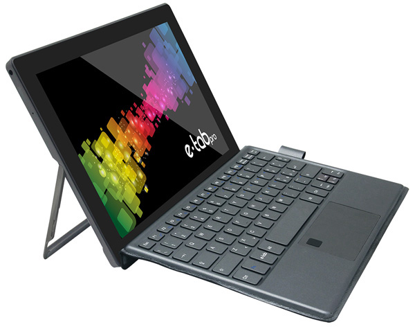 Microtech e-tab Pro, tablet 2-in-1 con Gemini Lake e ...