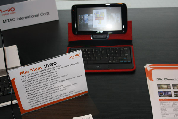 MIO Moov V780 con specifiche