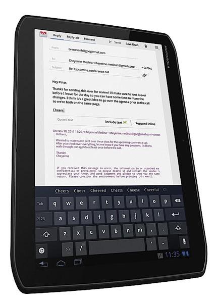 Motorola Xoom 2 e Xoom 2 Media Edition ufficiali ...
