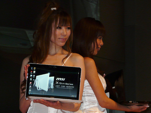 MSI X-Slim in Giappone