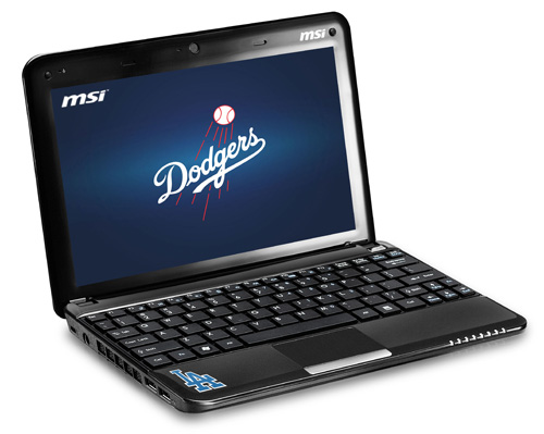 MSI Wind U135DX Dodgers