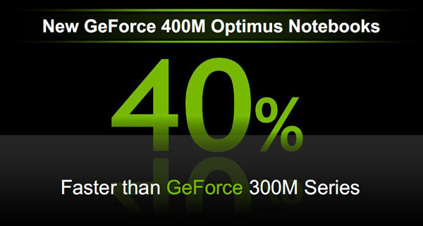 Nvidia GeForce 400M performance