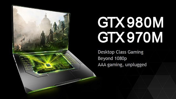 Nvidia GeForce GTX 980M e 970M