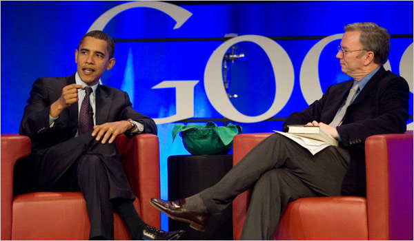 Obama e Schmidt
