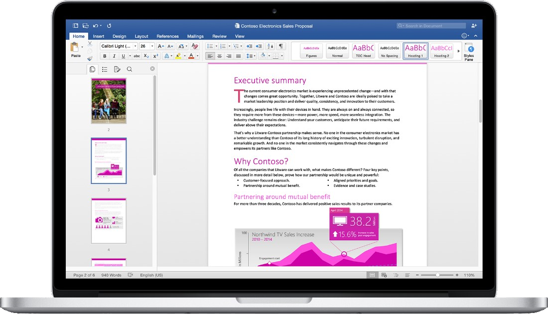 Microsoft Office 2016 per Mac