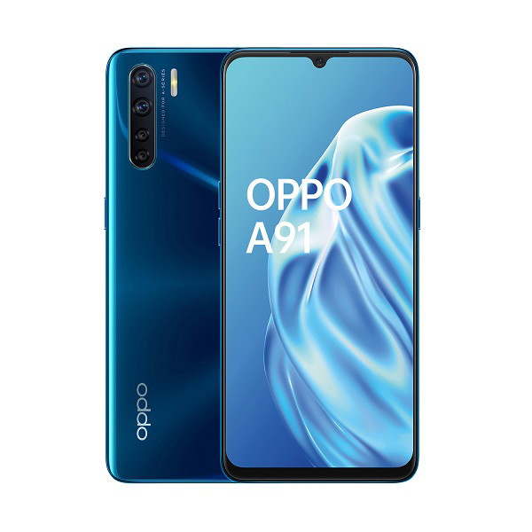 OPPO A91 in tinta Blazing Blue