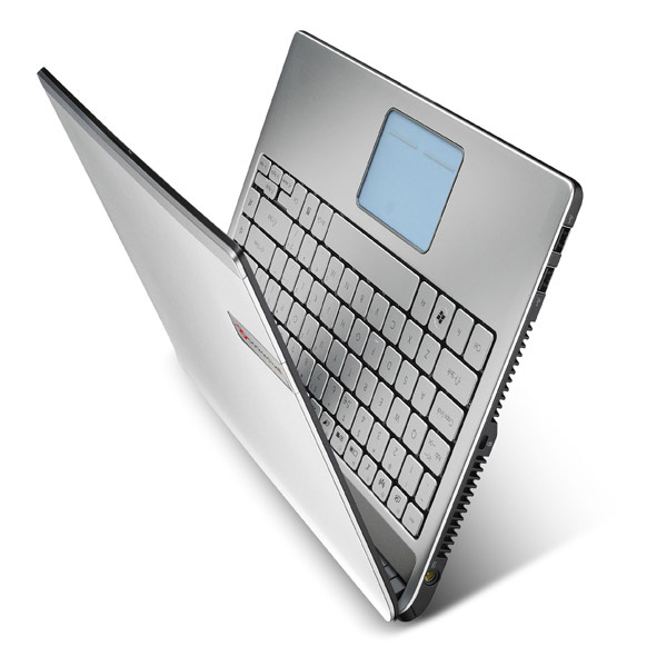 Nuovo notebook Packard Bell Butterfly S