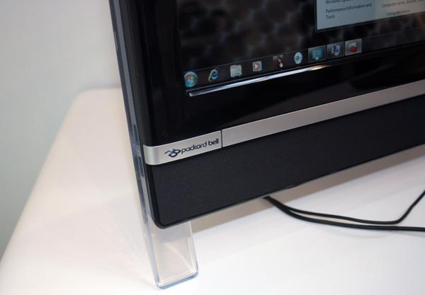 Logo Packard Bell e dettaglio design
