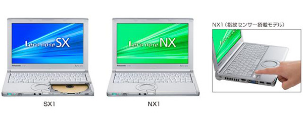 Panasonic Let's Note NX e SX