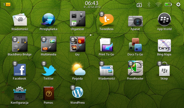 Playbook OS 2.1
