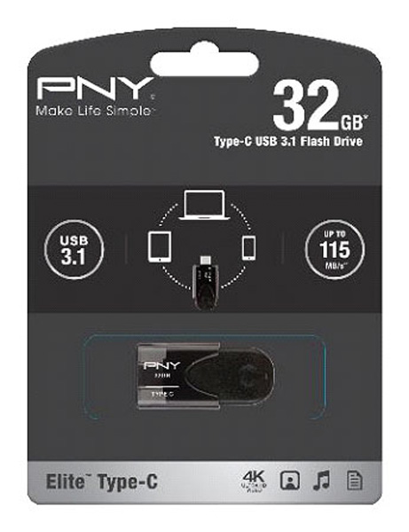 Elite Type-C USB 3.1 Flash Drive: