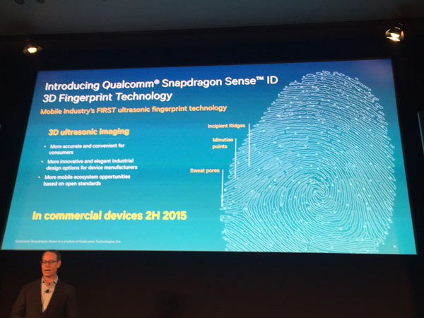 Qualcomm Snapdragon Sense ID 3D Fingerprint Scanning