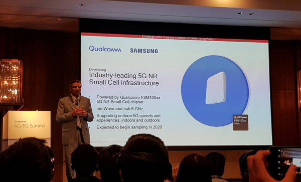 Qualcomm e Samsung small cell 5G