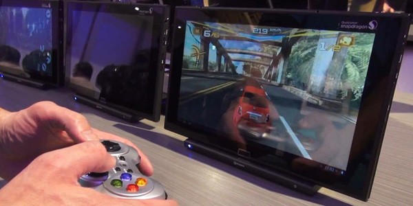 Qualcomm Snapdragon 800 demo gaming