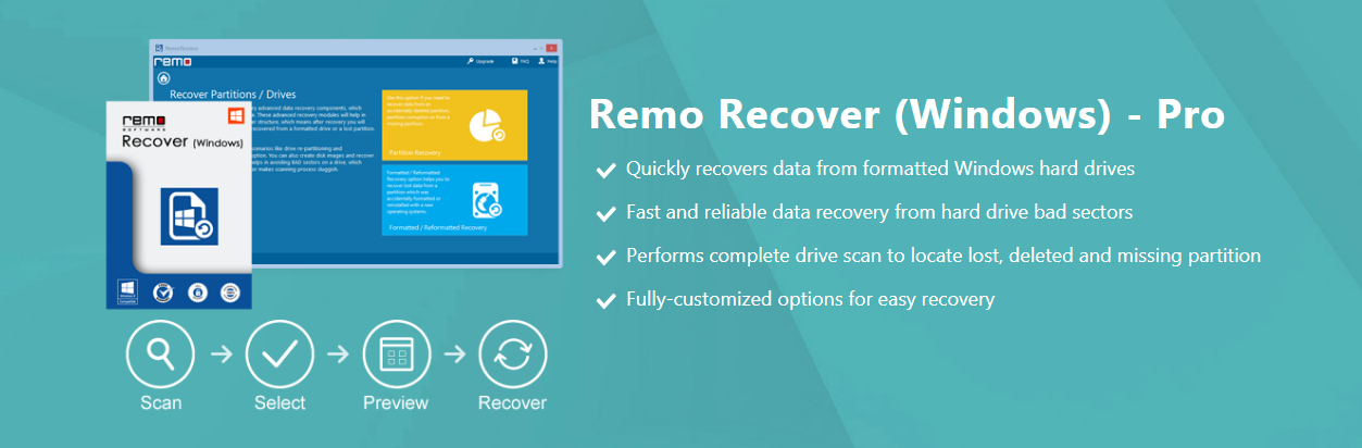 Remo Recover Windows Pro