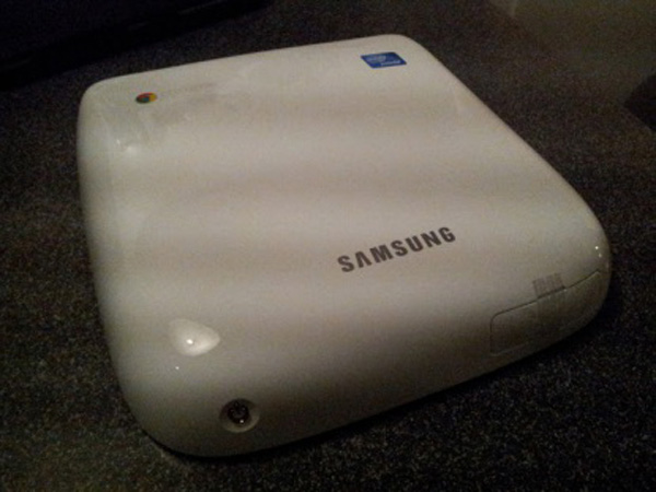 Chromebox Samsung bianco