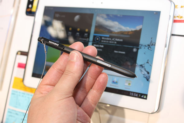 Samsung Galaxy Note 10.1 penna