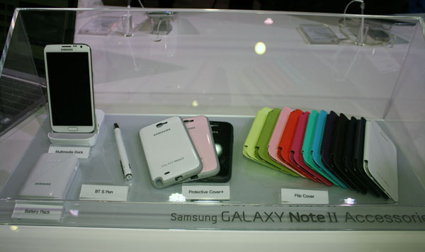 Samsung Galaxy Note 2 accessori