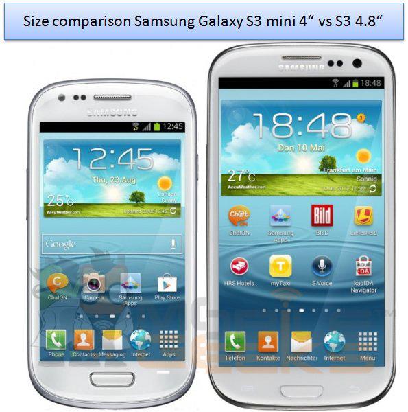 Samsung Galaxy S III Mini: prima foto e specifiche ...
