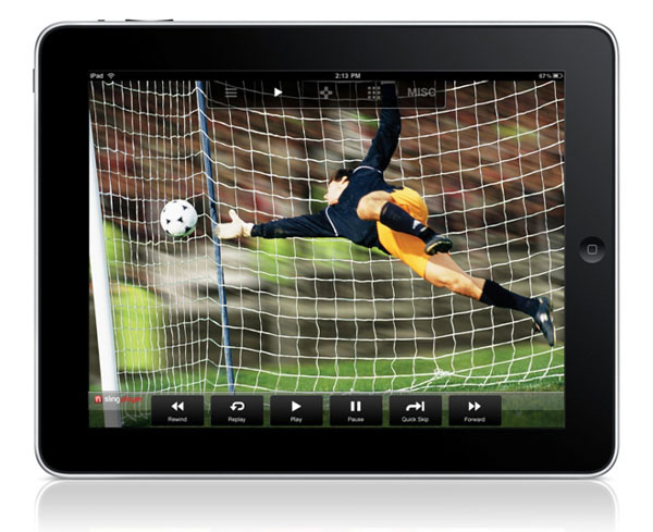 SlingPlayer Mobile su iPad