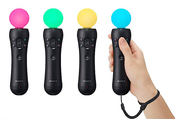 Sony Playstation Move colori