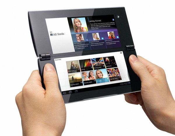 Tablet dualscreen Sony S2
