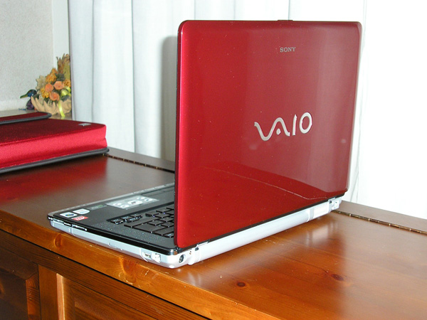 Sony VAIO CR21 design