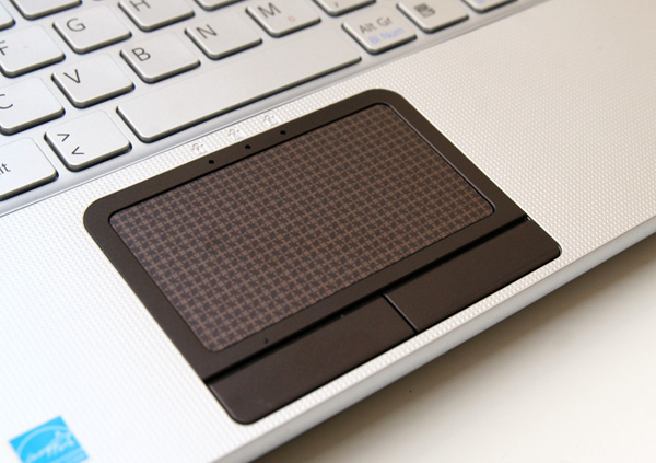 Touchpad decorato