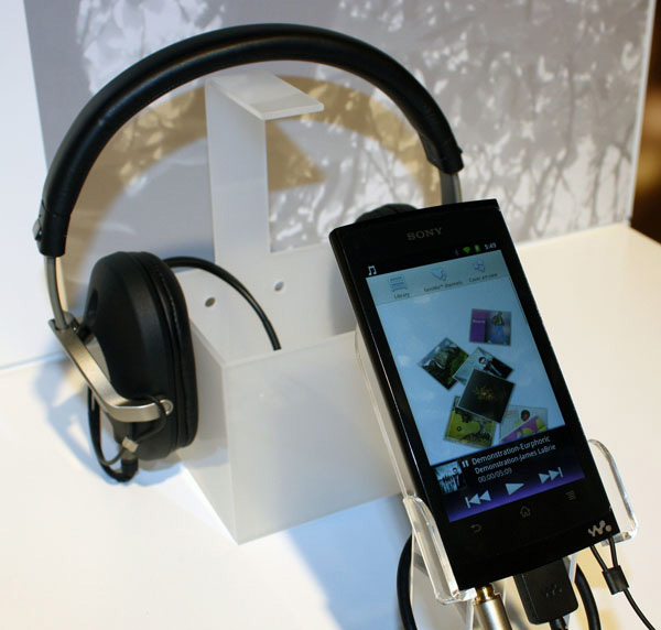 Sony Walkman Android design