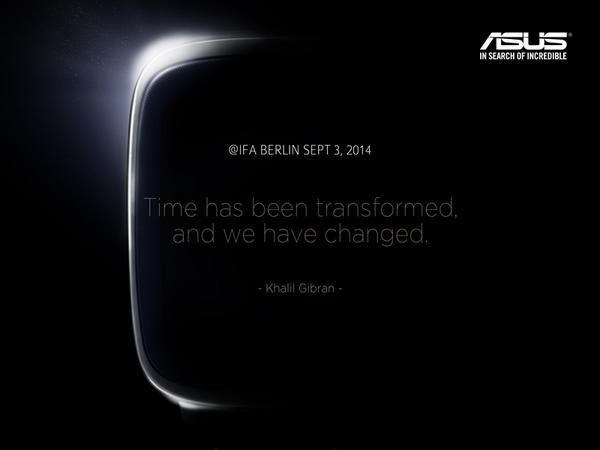 ASUS IFA 2014, smartwatch