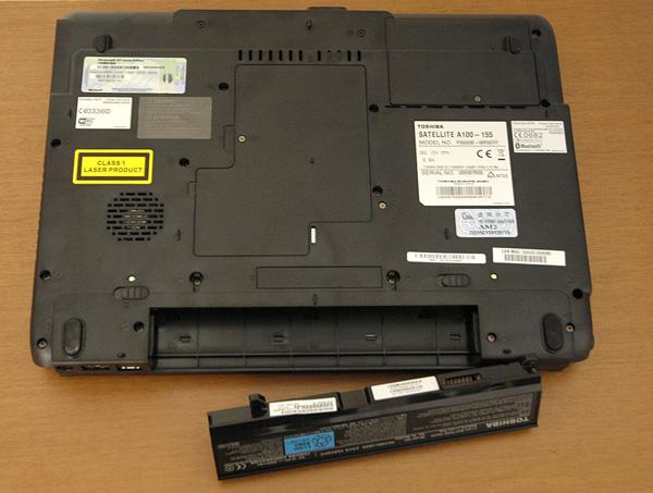 Recensione Toshiba Satellite A100