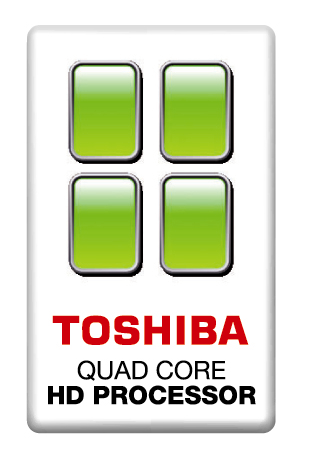 Processore Toshiba Quad Core HD