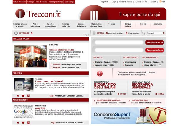 Traccani online