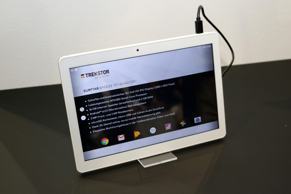 trekstor SurfTab Breeze 10.1 Quad 3G