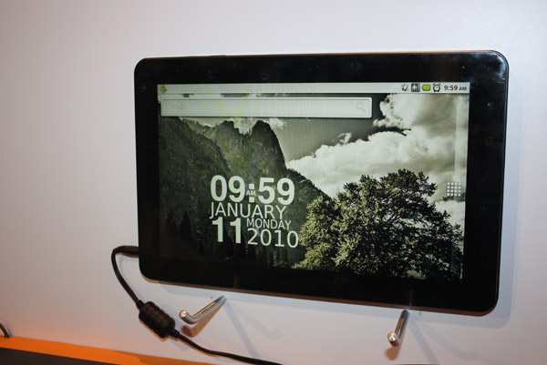 tablet Viliv X10