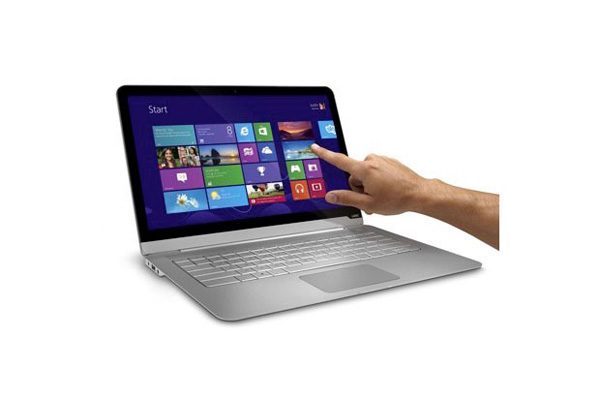 Notebook Vizio con Windows 8 e touchscreen