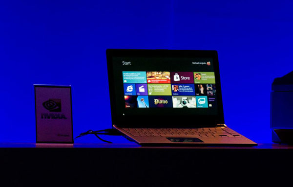 Windows 8 su tablet Nvidia