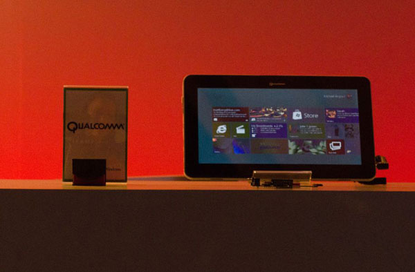 Windows 8 su tablet Qualcomm
