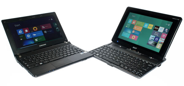 Windows 8 su tablet e notebook
