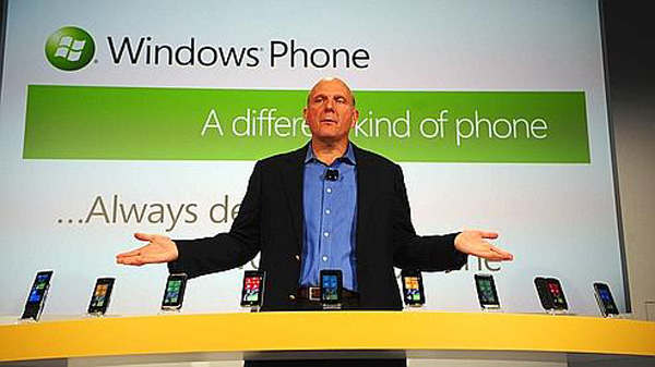 Windows Phone 7 ballmer