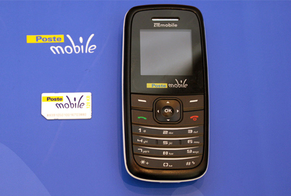 Telefono cellulare postemobile firmato zte notebook italia for Mobile telefono