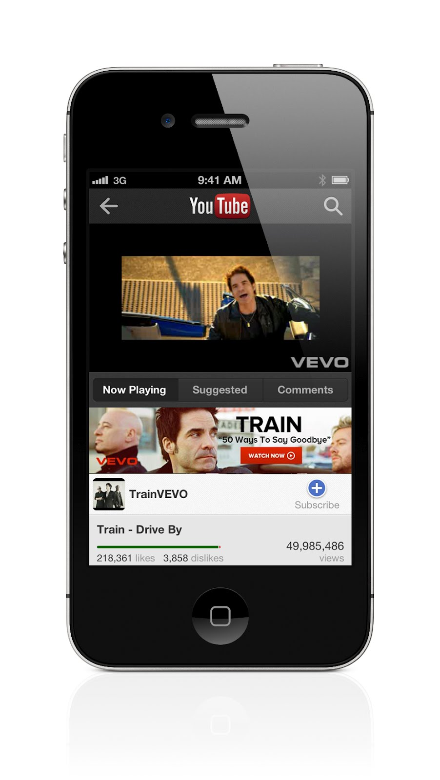 YouTube per iOS 6